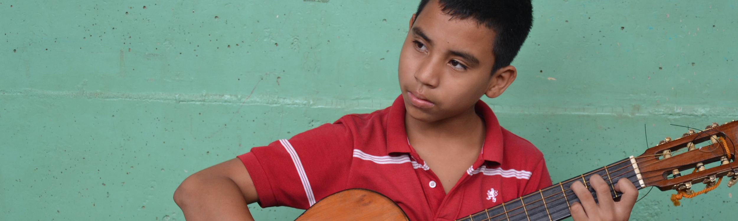 Guitarrista El Recreo